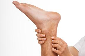 ankle strain