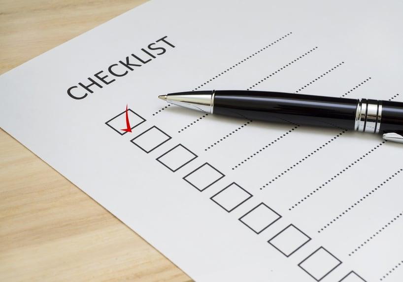orthopedic emergency checklist