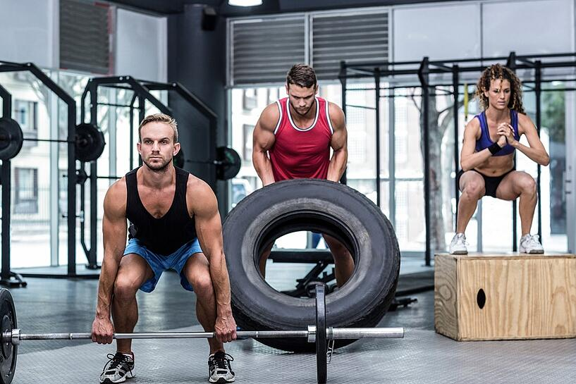 recovery from high intensity workouts