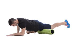 foam rolling stretching