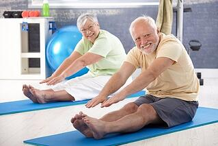 Gentle stretching and exercises can help with minor pain.