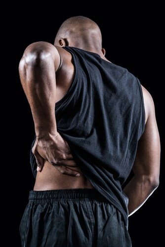 Even athletes can suffer from hip pain.