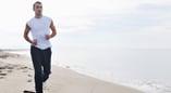 man-Running-on-beach-Corpus-Christi-CorpusChristi