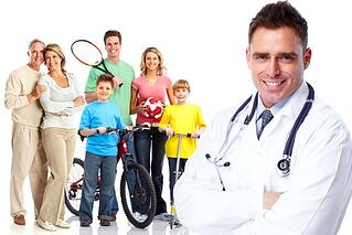 Sports medicine specialists treat ordinary people with injuries and can become an active family's best resource.